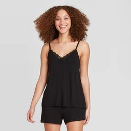 Women's Beautifully Soft Cami and Shorts Pajama Set - Stars Above™ Black | Target