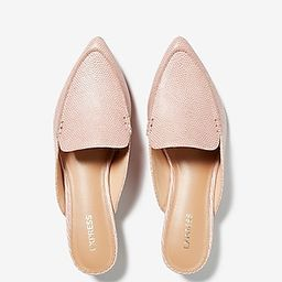 Textured Slide Loafers   Express