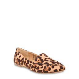 Time and Tru Animal Print Feather Flat (Women's) (Wide Width Available)   Walmart (US)