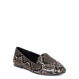 Time and Tru Women's Animal Print Feather Flat (Wide Width Available)   Walmart (US)