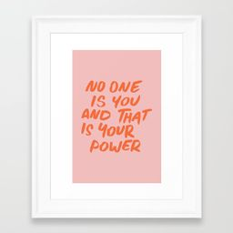 Power Framed Art Print by subliming | Society6