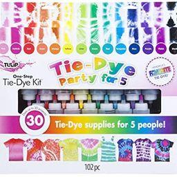 Tulip One-Step Tie-Dye Kit 15-Color Party Kit, Standard, Rainbow | Amazon (US)