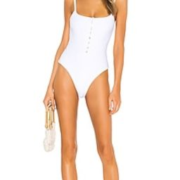 LPA Meadow One Piece in White from Revolve.com | Revolve Clothing (Global)