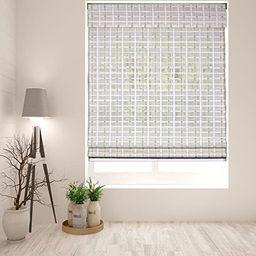 "Arlo Blinds Cordless Whitewash Bamboo Roman Shades Blinds - Size: 29"" W x 60"" H, Cordless Lift Sy... | Amazon (US)"
