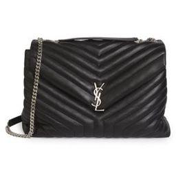 Large Loulou Matelassé Leather Shoulder Bag   Saks Fifth Avenue