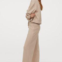 Ribbed Pajama Pants | H&M (US)