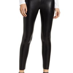 Faux Leather Ankle Leggings | Nordstrom