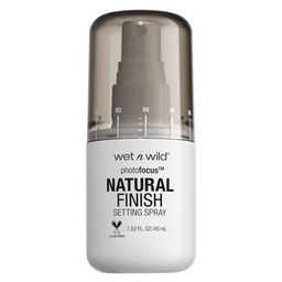 Wet n Wild Photofocus Natural Finish Setting Spray - 1.52 fl oz   Target