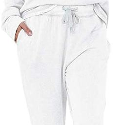 Eurivicy Women's Solid Sweatsuit Set 2 Piece Long Sleeve Pullover and Drawstring Sweatpants Sport... | Amazon (US)