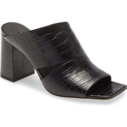 Nelda Square Toe Slide Sandal | Nordstrom