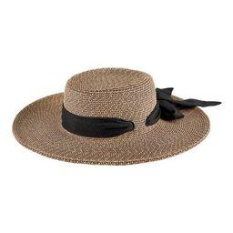 Women's San Diego Hat Company Boater Sun Hat with Scarf Bow UBM4482   Walmart (US)