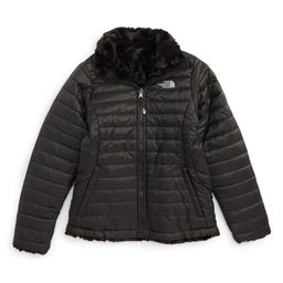 The North Face 'Mossbud Swirl' Reversible Water Repellent Jacket (Little Girls & Big Girls)   Nor...   Nordstrom