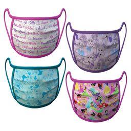 Disney Princess and Frozen Cloth Face Masks 4-Pack Set – Pre-Order   shopDisney