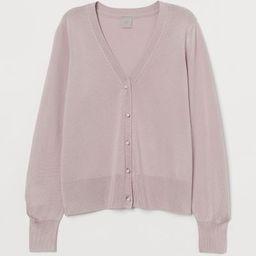 Glossy cardigan               £19.99 | H&M (UK, IE, MY, IN, SG, PH, TW, HK, KR)
