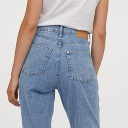 Mom Loose-fit Ultra High Jeans               £24.99 | H&M (UK, IE, MY, IN, SG, PH, TW, HK, KR)