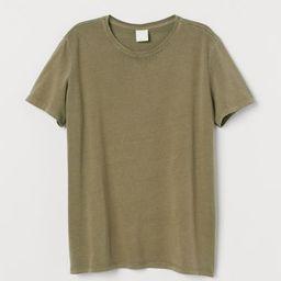 Cotton T-shirt               £8.99 | H&M (UK, IE, MY, IN, SG, PH, TW, HK, KR)