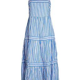 Striped Apron Dress | Saks Fifth Avenue OFF 5TH