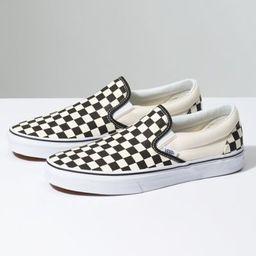 Checkerboard Slip-On   Vans (US)