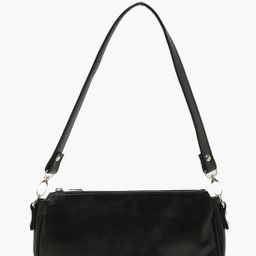 Smooth PU Under Arm Bag   Boohoo.com (US & CA)