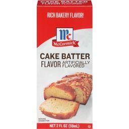 McCormick Cake Batter Flavor, 2 fl oz | Walmart (US)