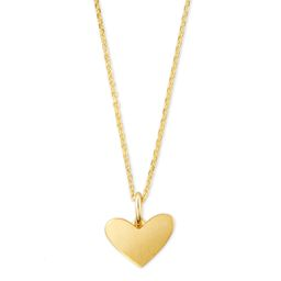 Ari Heart Charm Necklace In 18k Gold Vermeil | Kendra Scott