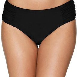 Women's Bikini Bottoms High Cut Swim Bottom Ruched Swimwear Briefs   Amazon (US)