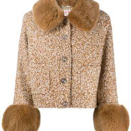 Clay cropped jacket   Farfetch (UK)