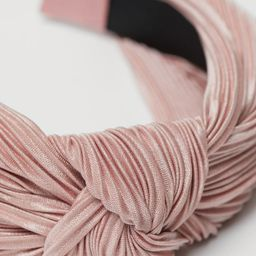 Hairband with Knot Detail | H&M (US)