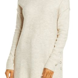 Side Snap Tunic Sweater | Nordstrom