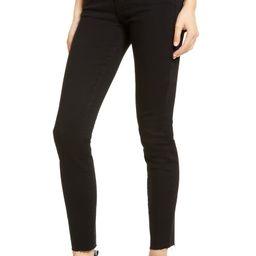Hoxton Raw Hem Ankle Jeans | Nordstrom