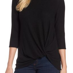 Cozy Twist Front Pullover | Nordstrom