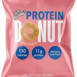 Jim Buddy's Protein Donuts, Low Carb with 11g of Protein, 2.12 oz (10 Pack, Cake Batter) | Amazon (US)