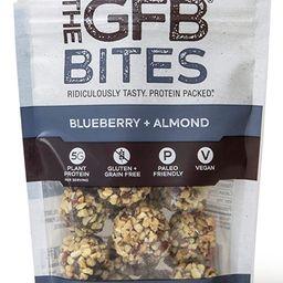 The GFB Gluten Free, Paleo Grain Free Protein Bites, Blueberry Almond, 4 Ounce, Vegan, Dairy Free... | Amazon (US)
