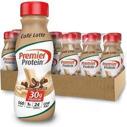 Premier Protein 30g Protein Shake, Cafe Latte, 11.5 Fl Oz, Pack of 12, Café Latte | Amazon (US)