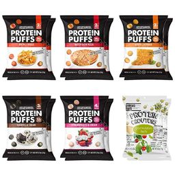 Shrewd Food Protein Puffs, Keto Friendly Snacks, Low Carb Crunch, Protein Crisp, Savory and Sweet... | Amazon (US)