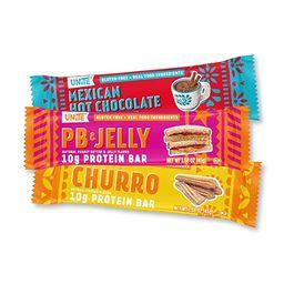 UNiTE Food High Protein Bar, Variety Flavor Pack, Gluten Free, High in Fiber & Protein, All Natur... | Amazon (US)