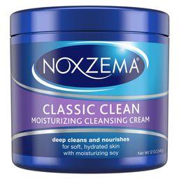 Noxzema Classic Clean Moisturizing Cleansing Cream - 12oz   Target