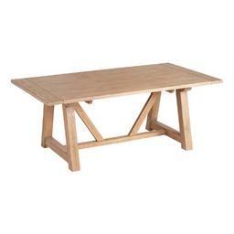 Wood Farmhouse Leona Extension Dining Table | World Market