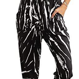 PRETTYGARDEN Women's Short Sleeve Tie Dye Long Pajamas Set One Piece Jumpsuit Loose Sleepwear N...   Amazon (US)