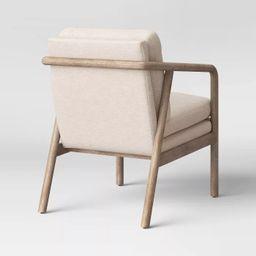 Tufeld Wood Arm Chair Beige - Project 62™ | Target