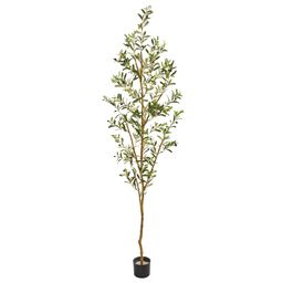 """Nearly Natural 82"""" Olive Artificial Tree 
