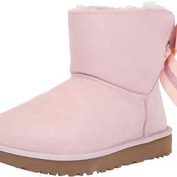UGG Womens Customizable Bailey Bow Mini Boot | Amazon (US)