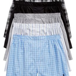 5-Pack Assorted Cotton Boxers   Nordstrom