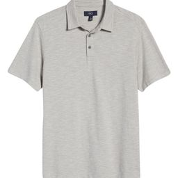 Marled Short Sleeve Cotton Polo   Nordstrom