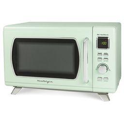 Nostalgia Mid-Century Retro 0.9 Cu.Ft. 900-Watt Countertop Microwave Oven With LED Display, 5 Pow...   Wayfair North America