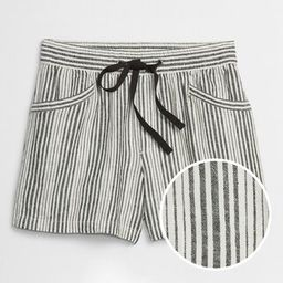Pull-On Shorts in Linen-Cotton | Gap Factory