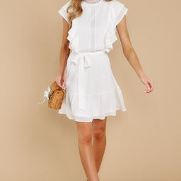 All Your Love White Dress | Red Dress