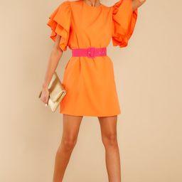 Night On Fire Orange Dress   Red Dress
