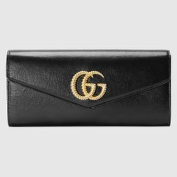 Broadway leather clutch with Double G   Gucci (EU)