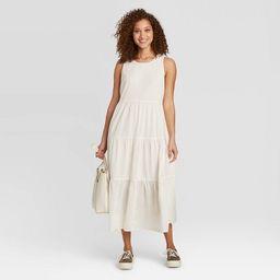 Women's Sleeveless Tiered Dress - A New Day™   Target